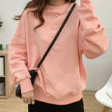 Fall 2019 Gao end new fashion long-sleeved breast-feeding jacket, loose-necked cotton breast-feeding blouse