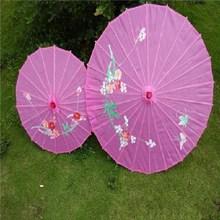 花伞演出配饰伞高端中国风幼儿园走秀丝绸舞蹈伞仿绸伞广场舞新款