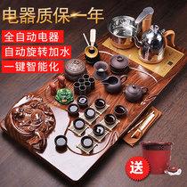 泡茶具套装家用茶台客厅简约现代喝茶紫砂功夫茶道茶壶全自动茶海