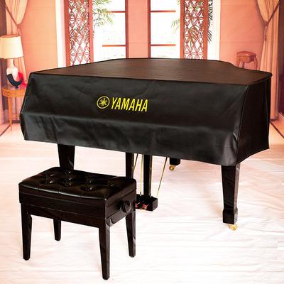 舒伯特厂家直营高端定制 定做大型演奏钢琴专用 皮革三角钢琴罩