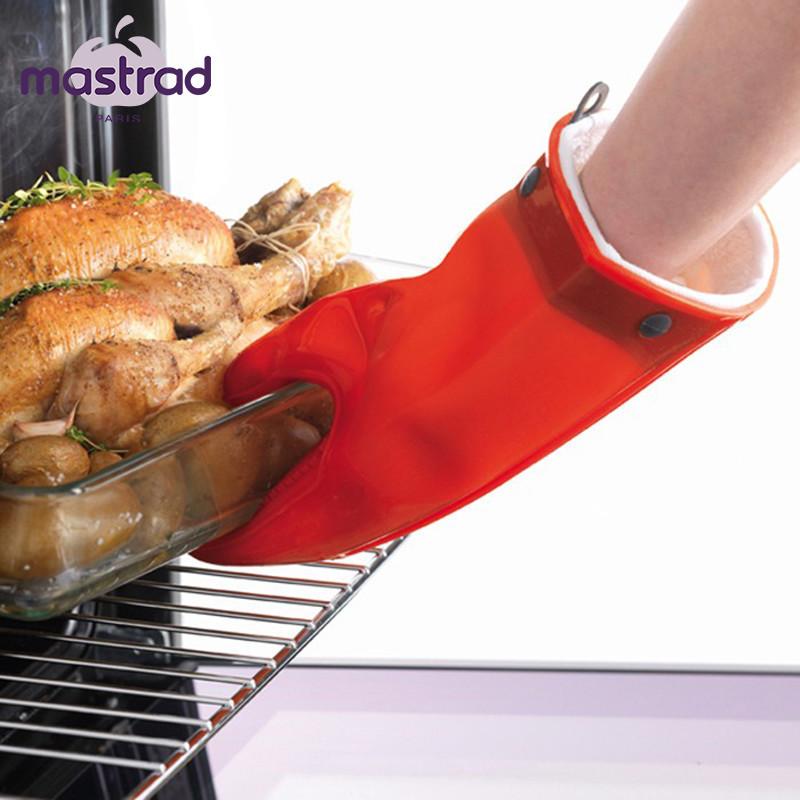 隔热手套法国耐高温防烫微波炉烤箱手套烘焙工具0.23硅胶