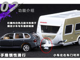 Stock unpackaged SIKU U2542 Porsche Cayenne RV wagon simulation alloy car model toy model