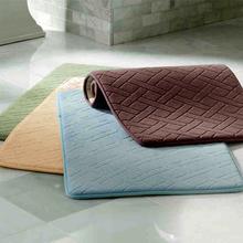 Bathroom absorbent mattress kitchen mattress, bathroom mattress, household door mattress, bedroom carpet