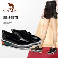 亮面时尚厚底鞋