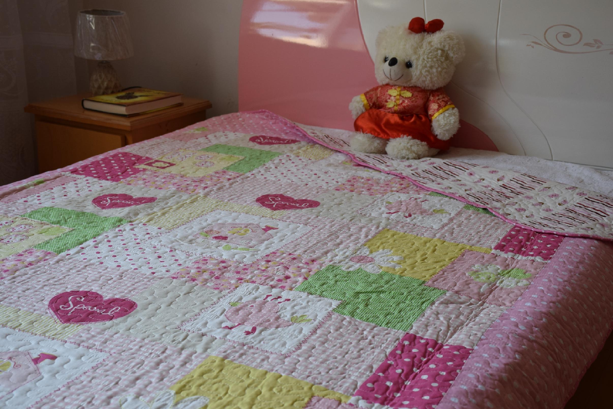 雙人絎縫床蓋