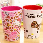 密胺杯子 可爱卡通儿童水杯洗漱杯 kitty漱口杯 牙刷杯 创意hello