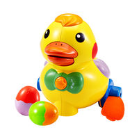 Oubei infant guide learning crawling egg ducklings voice control music toy gift puzzle early education 6 months