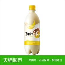 麴醇堂果味玛克丽米酒 韩国进口 香蕉味4%vol750ml