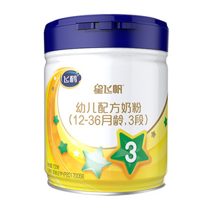 飞鹤星飞帆3段较大婴儿配方牛奶粉700g适用于1-3岁