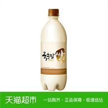 韩国进口醇堂原味碳酸玛克丽酒6vol750mll