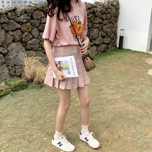 YUKI Xiaoshu Home Made New Style q0307 with Small Size Girl's Decreasing Age Checker Skirt, A-shaped Skirt and Short Skirt