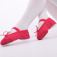 Children's dance shoes soft bottom female cat claw shoes gymnastics shoes girls ballet shoes dancing shoes Chinese dance shoes