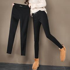 女小脚绒裤