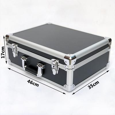 大号铝合金箱子手提工具箱家用多功能展会展示器材箱仪器设备箱
