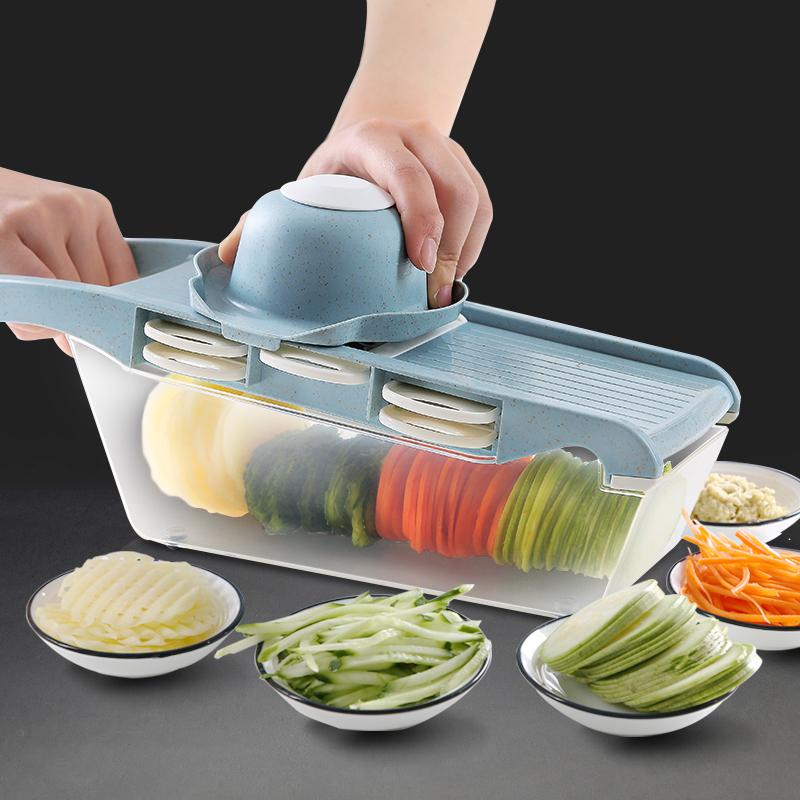土豆丝切丝器神器刨丝器家用擦丝萝卜土豆片切片多功能切菜器厨房