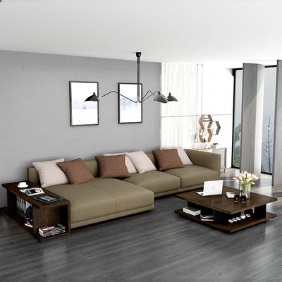 司库诺 北欧现代简约布艺沙发客厅整装大小户型贵妃L型懒人沙发椅