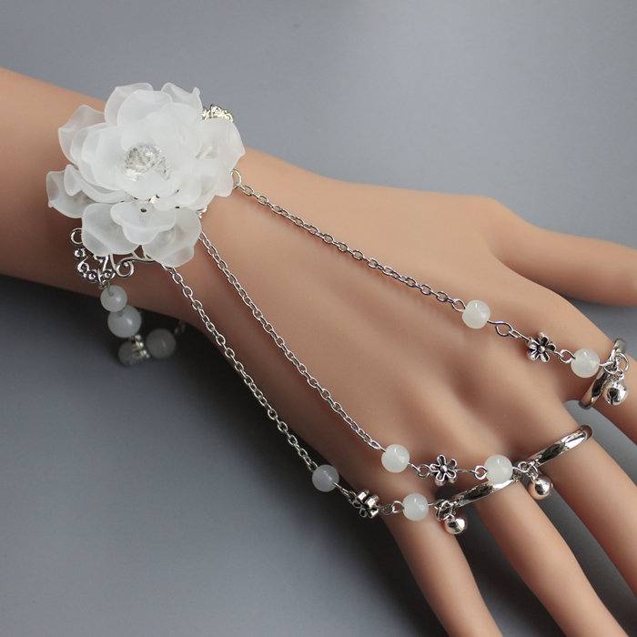 手链带戒指