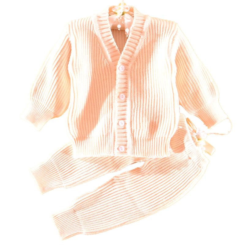 新生儿婴儿手套纱毛衣套装男女纯棉线衣开衫针织衫宝宝春秋棉纱衣