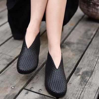 手工原创女靴