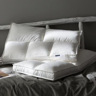 日式出口简约薄枕头 超柔护颈椎低枕芯 五星级酒店成人学生矮平枕