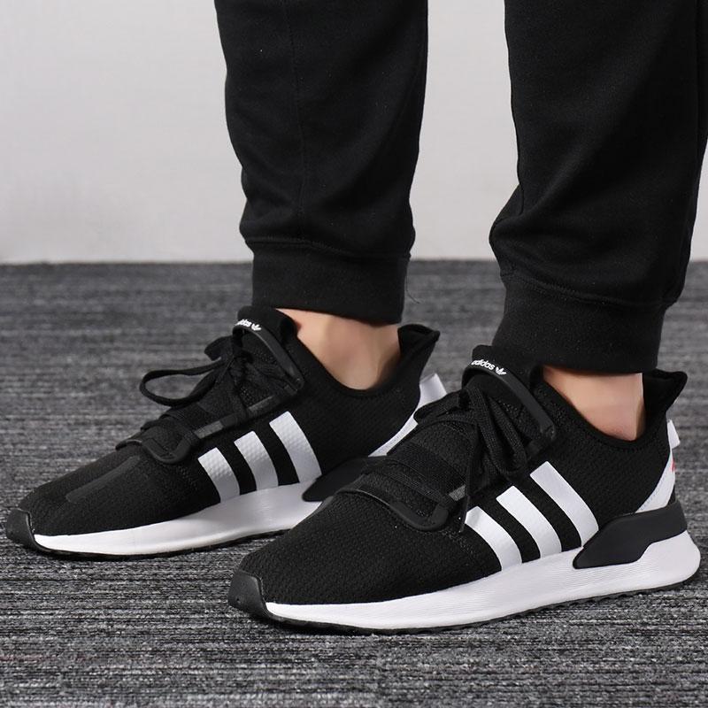 阿迪达斯Adidas男鞋2019夏季三叶草运动鞋休闲鞋透气跑步鞋G27639