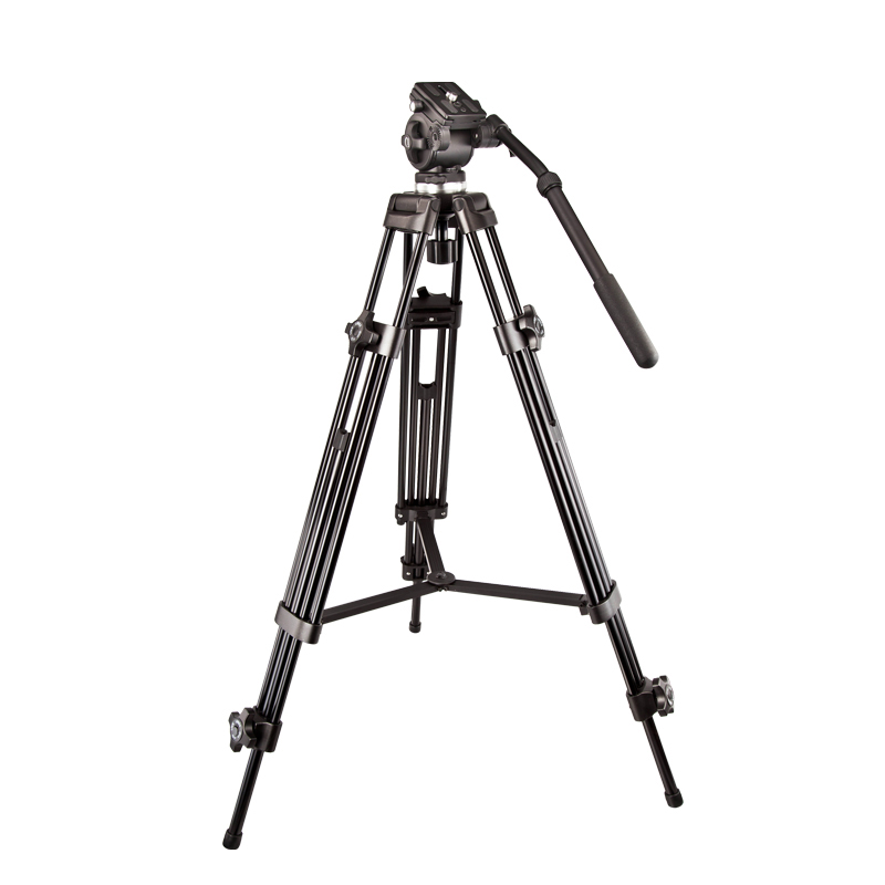 伟峰717 1.8米专业摄像机三脚架 单反相机摄影三角架液压便携支架
