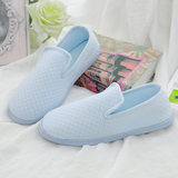 Moon shoes summer thin bag with soft-soled maternity shoes mesh pregnant women post-partum shoes thick sole waterproof non-slip spring autumn