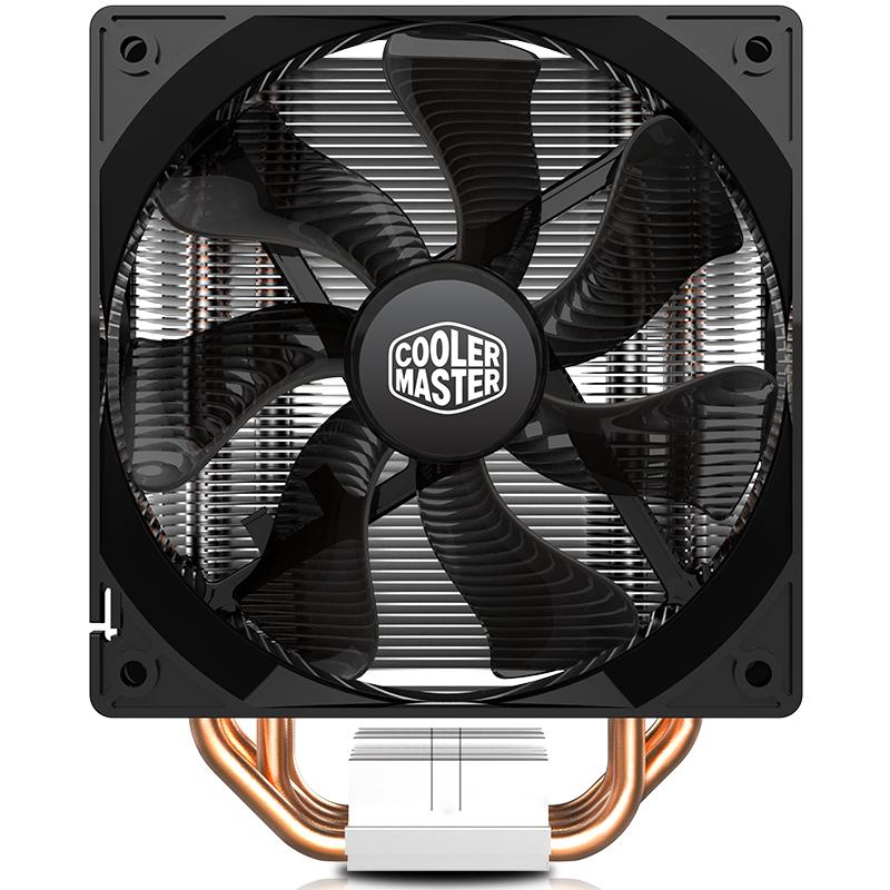 酷冷至尊t400i cpu散热器铜管台式静音I5电脑CPU风扇1155AMD/1366