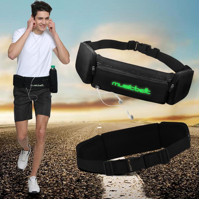 跑步腰带水