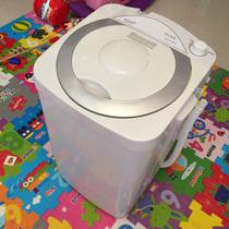 小型迷你家用波轮带热烘干大容量宿舍洗衣机全自动8.2KG7.5韩电