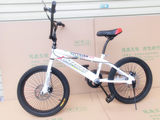 BMX BMX show bicycle fancy street car disc brakes 20 inch disc brakes V brake bicycle province