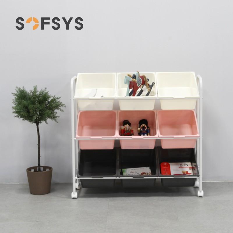 儿童玩具收纳架幼儿园玩具分类收纳柜角落整理架宝宝储物架子