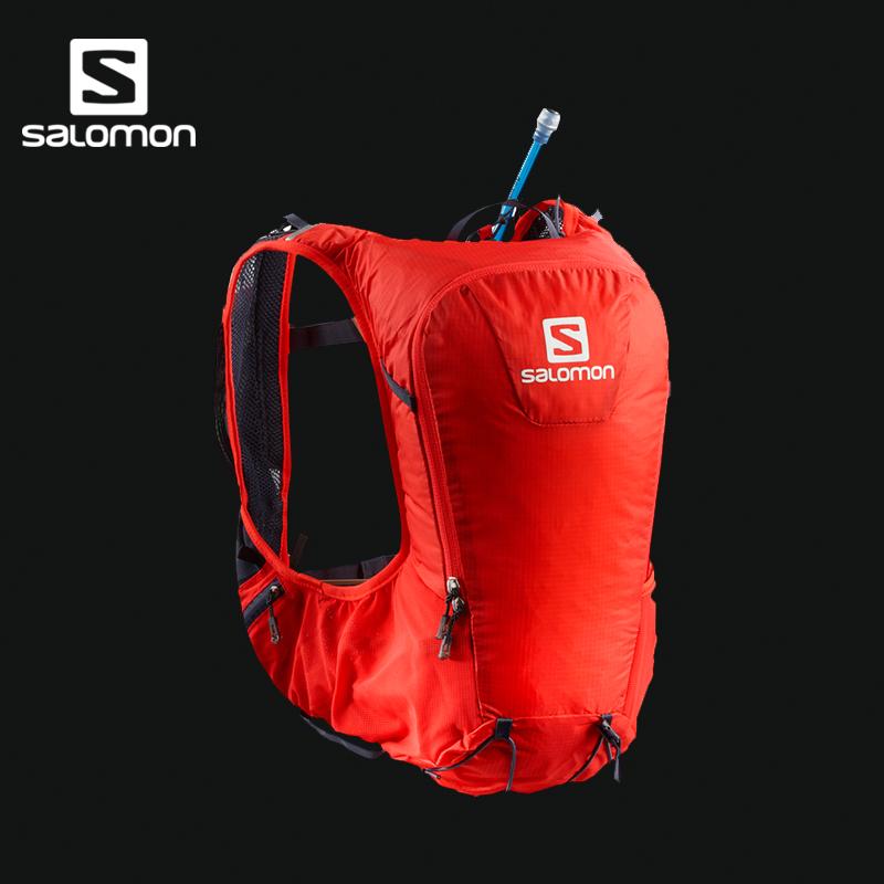 Salomon 萨洛蒙户外男女款越野跑背包 配1.5L水袋 SKIN PRO 10