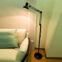 书房钢琴客厅台灯卧室灯简约现代遥控led护眼落地灯立式阅读