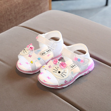 Baby Shoes, Children's Shoes, One and a half Years Old Girls, Summer Sandals, 1-3 Years Old Children, Beach Shoes, Girls'Soft-soled Princess Shoes