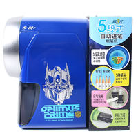 Transformers Pencil Sharpener Pupils Adjustable Thickness Planer Child Cartoon Pencil Sharpener Pencil Sharpener