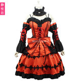 Dating big combat cos costume when savage three court princess dress anime halloween costume lolita goth