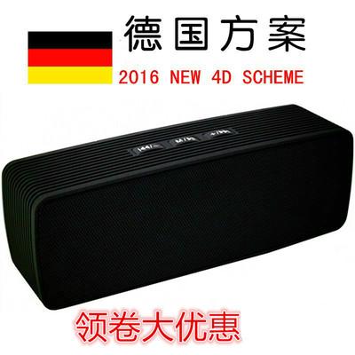 德国无线蓝牙音箱便携式迷你外放插卡重低音炮 可插U盘小音响户外