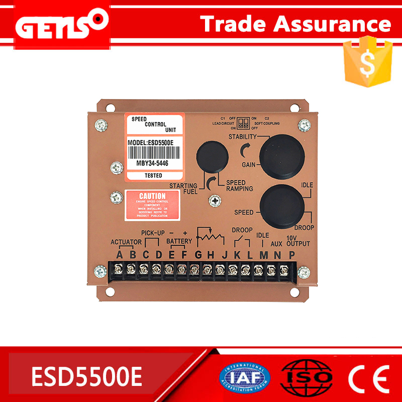 康明斯ESD5500E调速板上海柴油机发电机控制器GAC电调板ESD5111