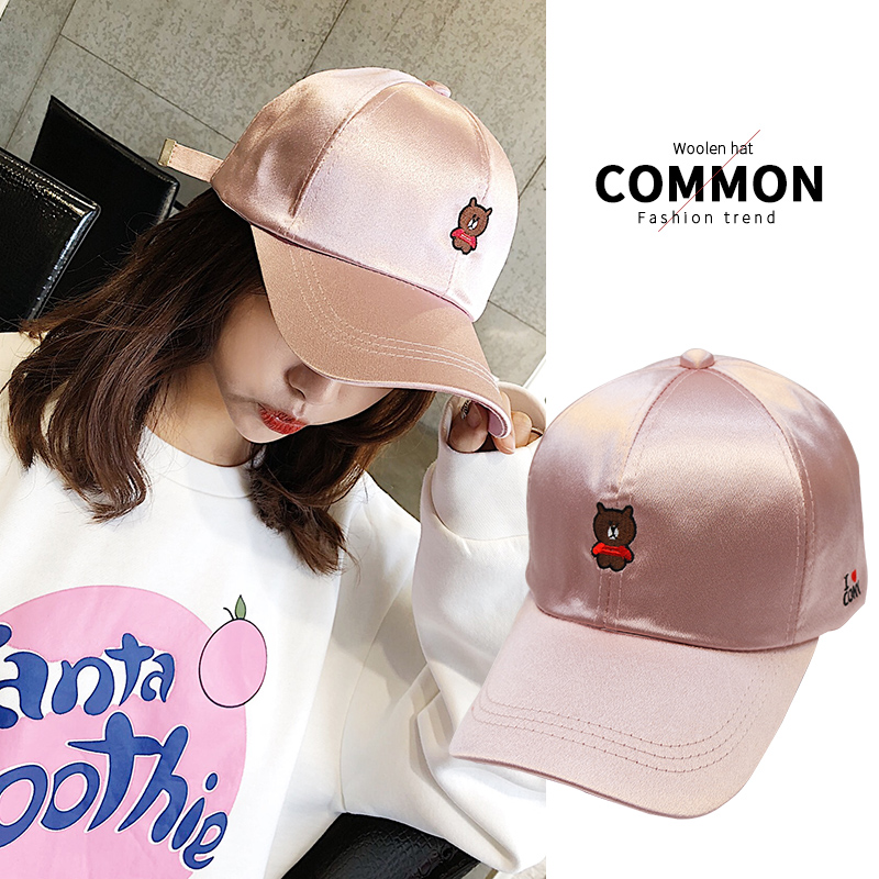 韓國棒球帽小熊
