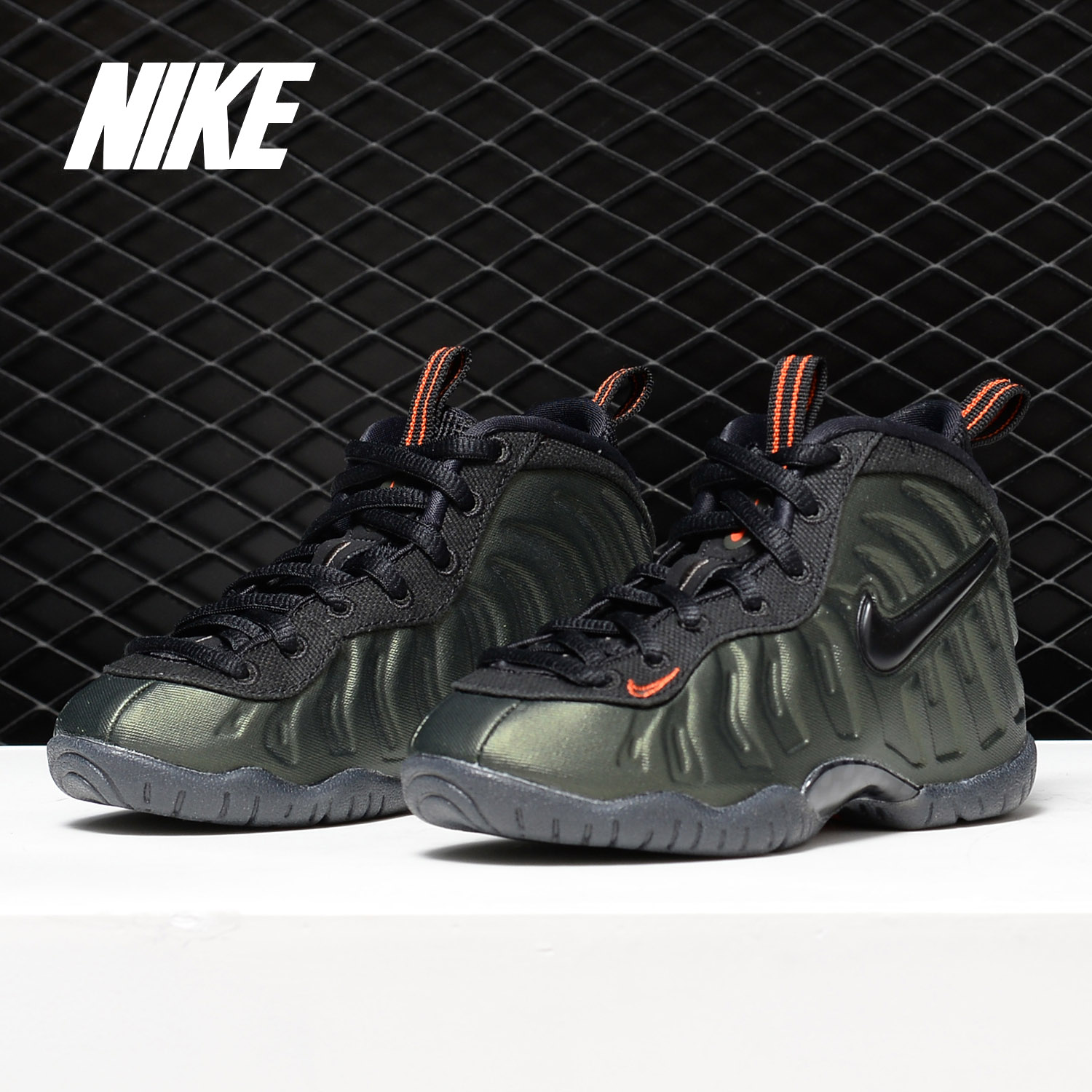 Nike/耐克正品LITTLE POSITE PRO(PS)喷泡篮球鞋婴小童 843755