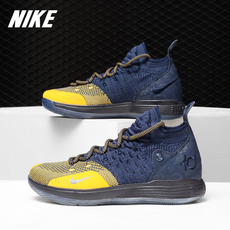 Nike/耐克正品 KD11杜兰特十一代实战气垫女子运动篮球鞋AH3465