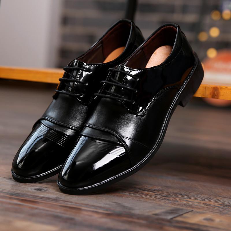男款休闲皮鞋春