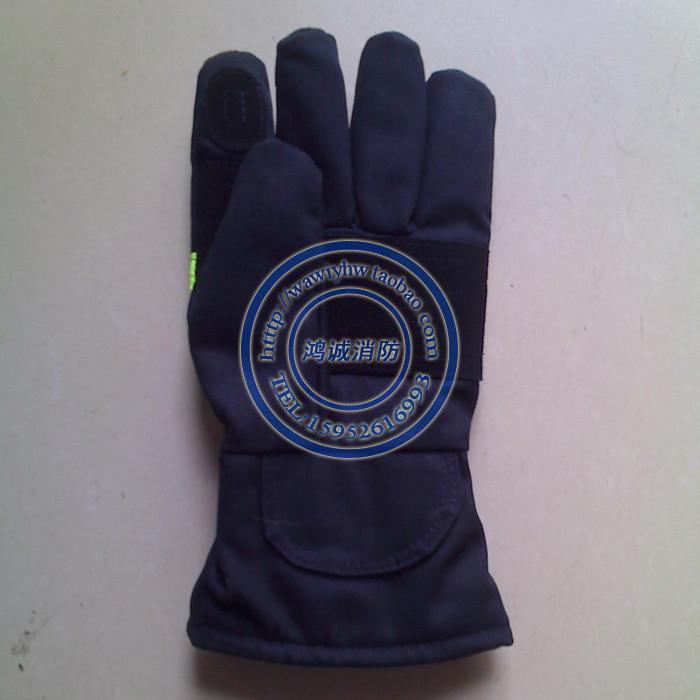 02款新型消防手套 新式抢险救援手套消防员阻燃手套微型消防站