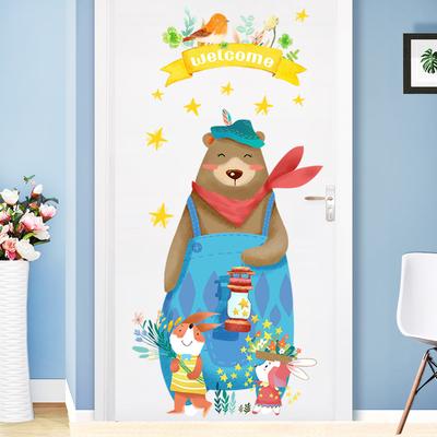 卧室门贴画怎么样