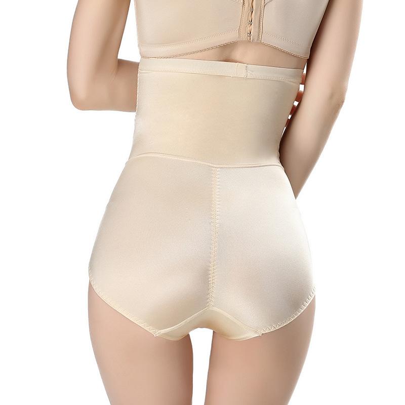 产后塑形束腰高腰收腹裤无痕塑身裤女收腹内裤提臀蛋白丝透气弹力