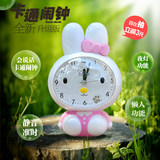 Singing, talking, children, cute cartoon voice, creative luminous, silent bedroom, bedside student, music, small alarm clock
