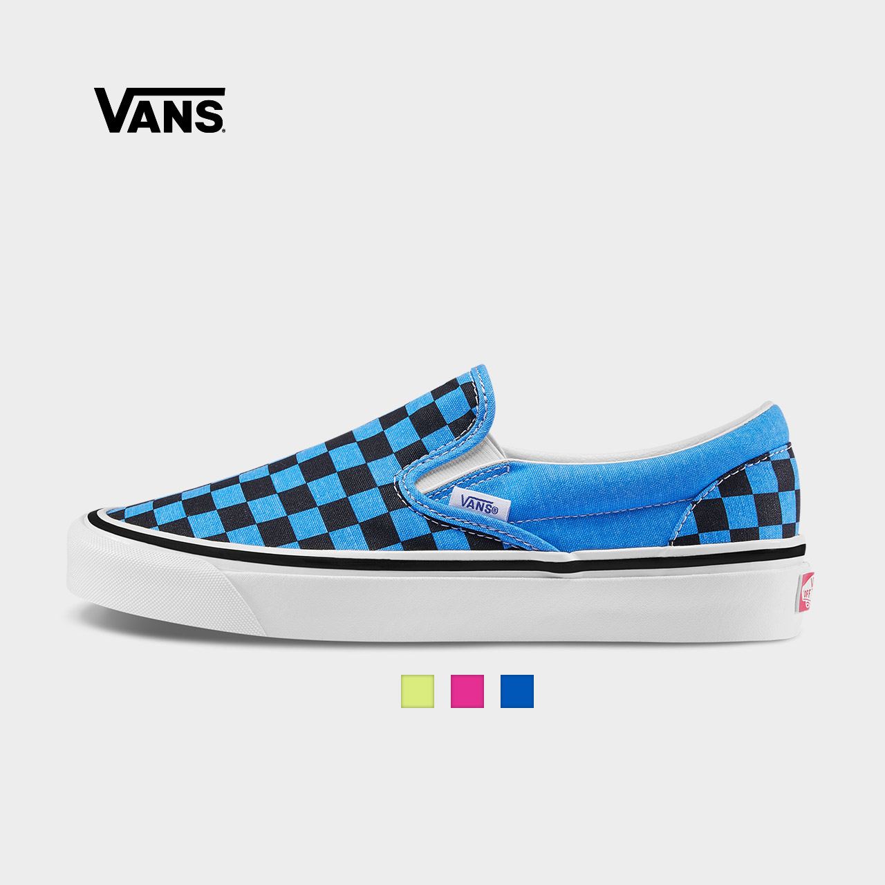 Vans范斯 经典系列 Slip-On帆布鞋 安纳海姆低帮男女新款官方正品
