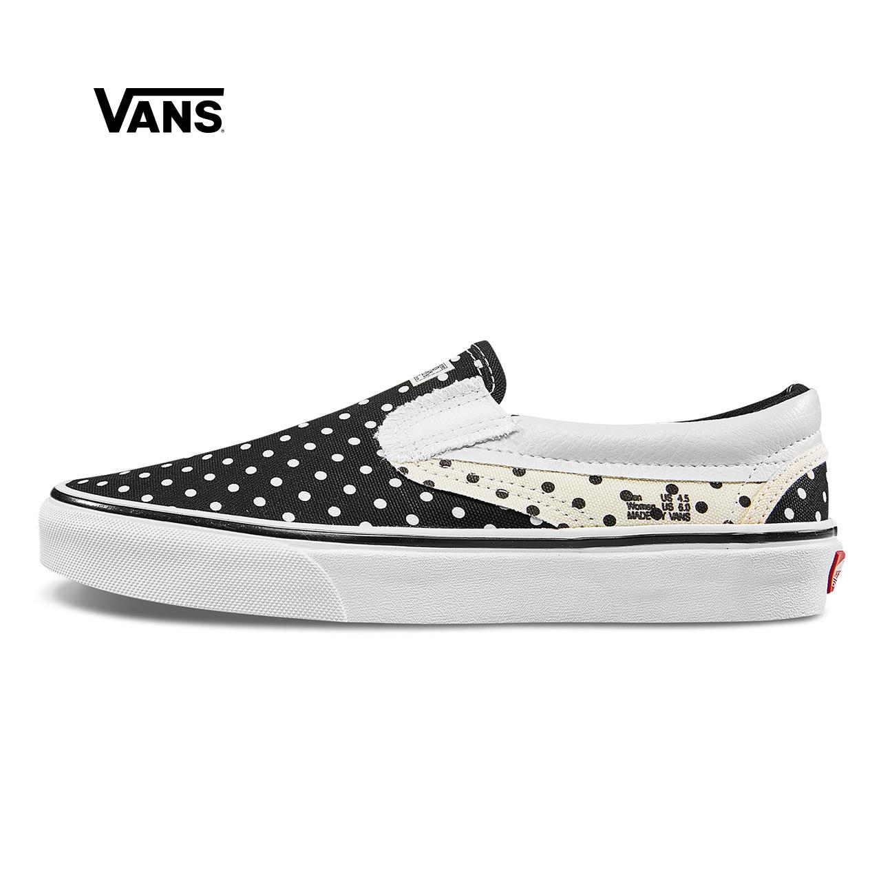 Vans范斯 经典系列 Slip-On帆布鞋 低帮女子官方正品
