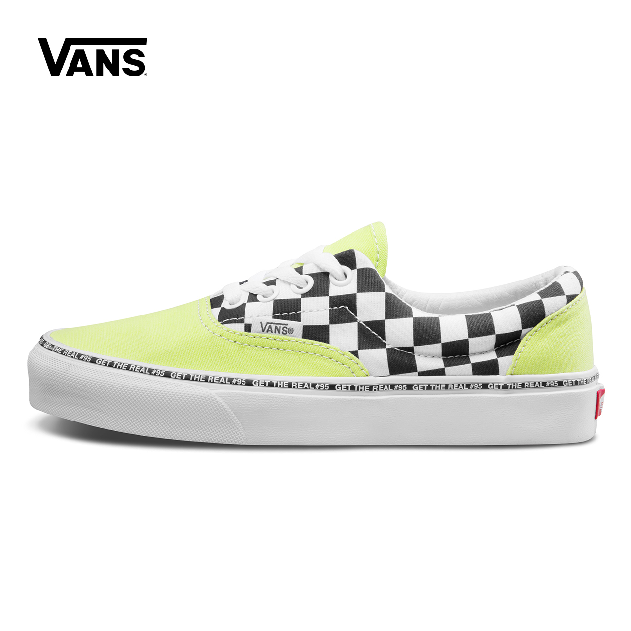 Vans范斯 经典系列 Era帆布鞋 GET THE REAL#95低帮男女官方正品